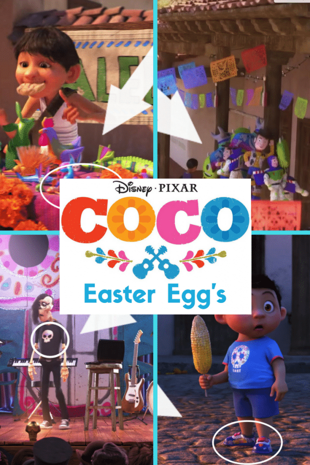 Coco's Easter Eggs