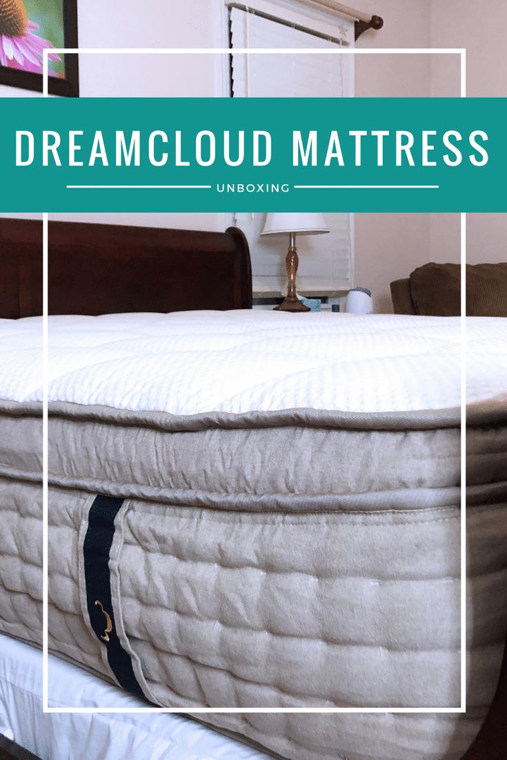Dreamcloud mattress unboxing