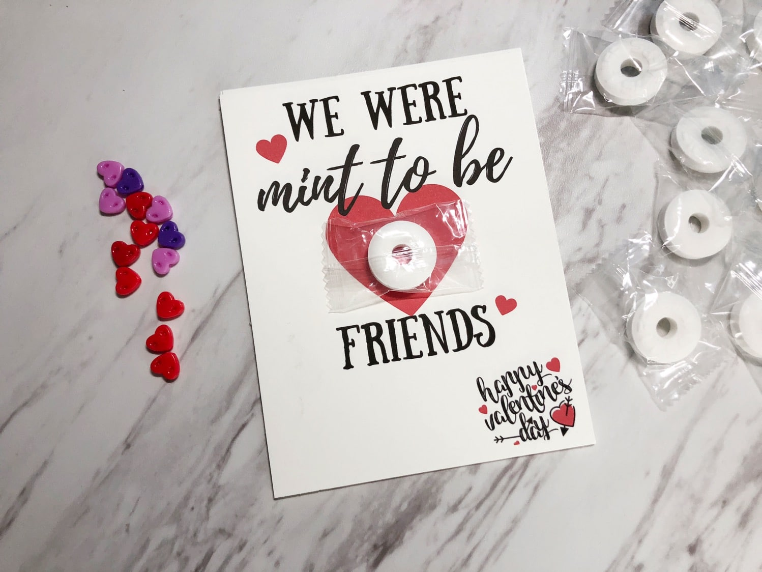 We were mint to be friends Valentine