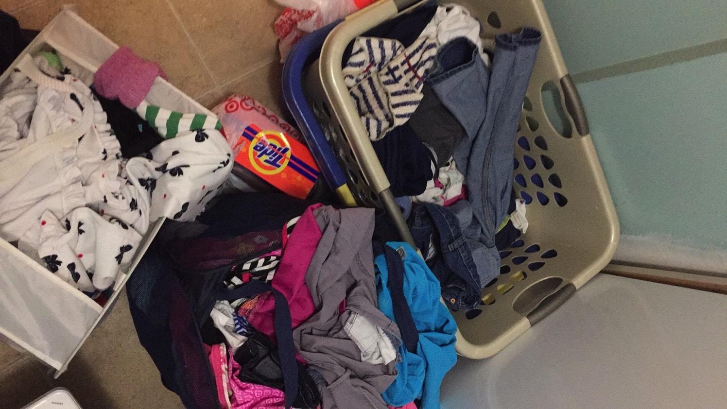 Laundry galore