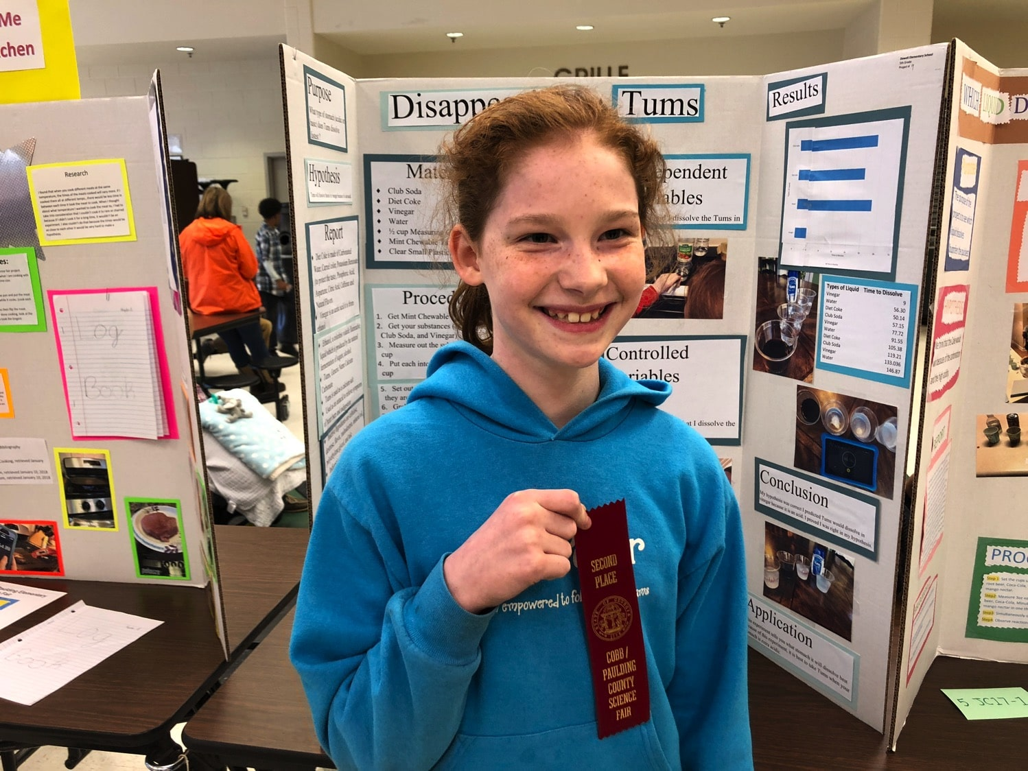 science fair 2nd place