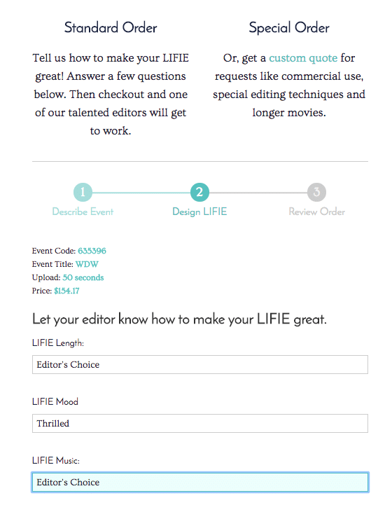LIFIE review process