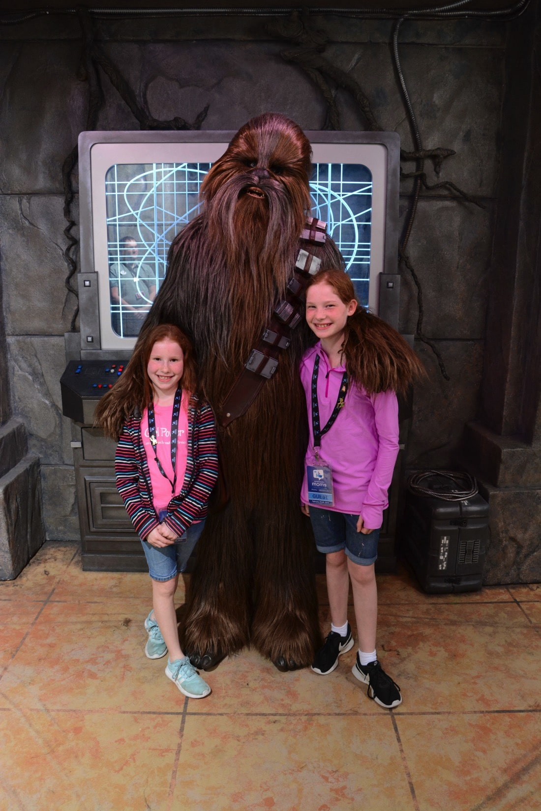 metting chewy and talking wookie