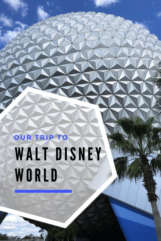 Our trip to walt disney world