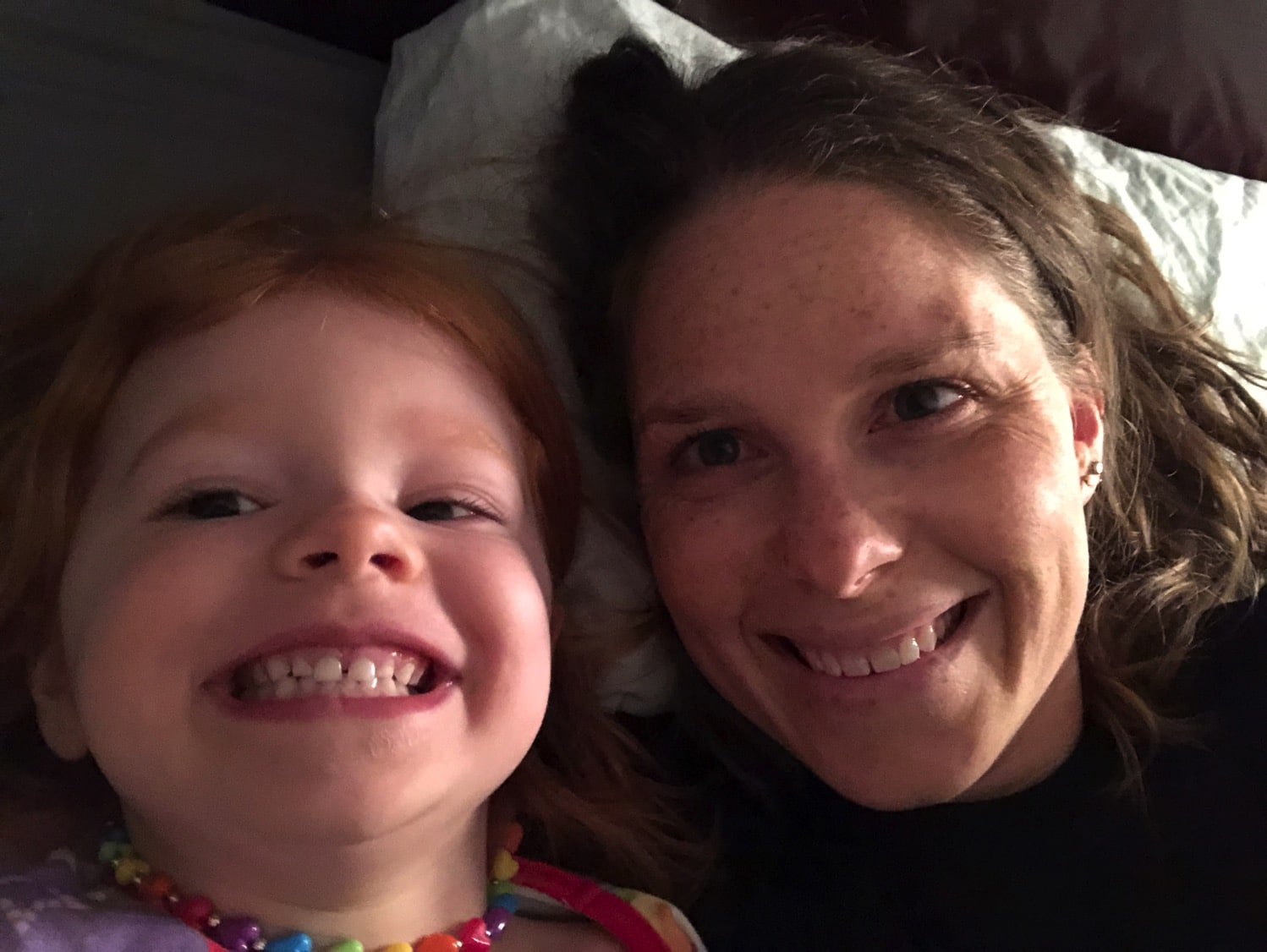 Bedtime snuggles | Mommy and Me Monday