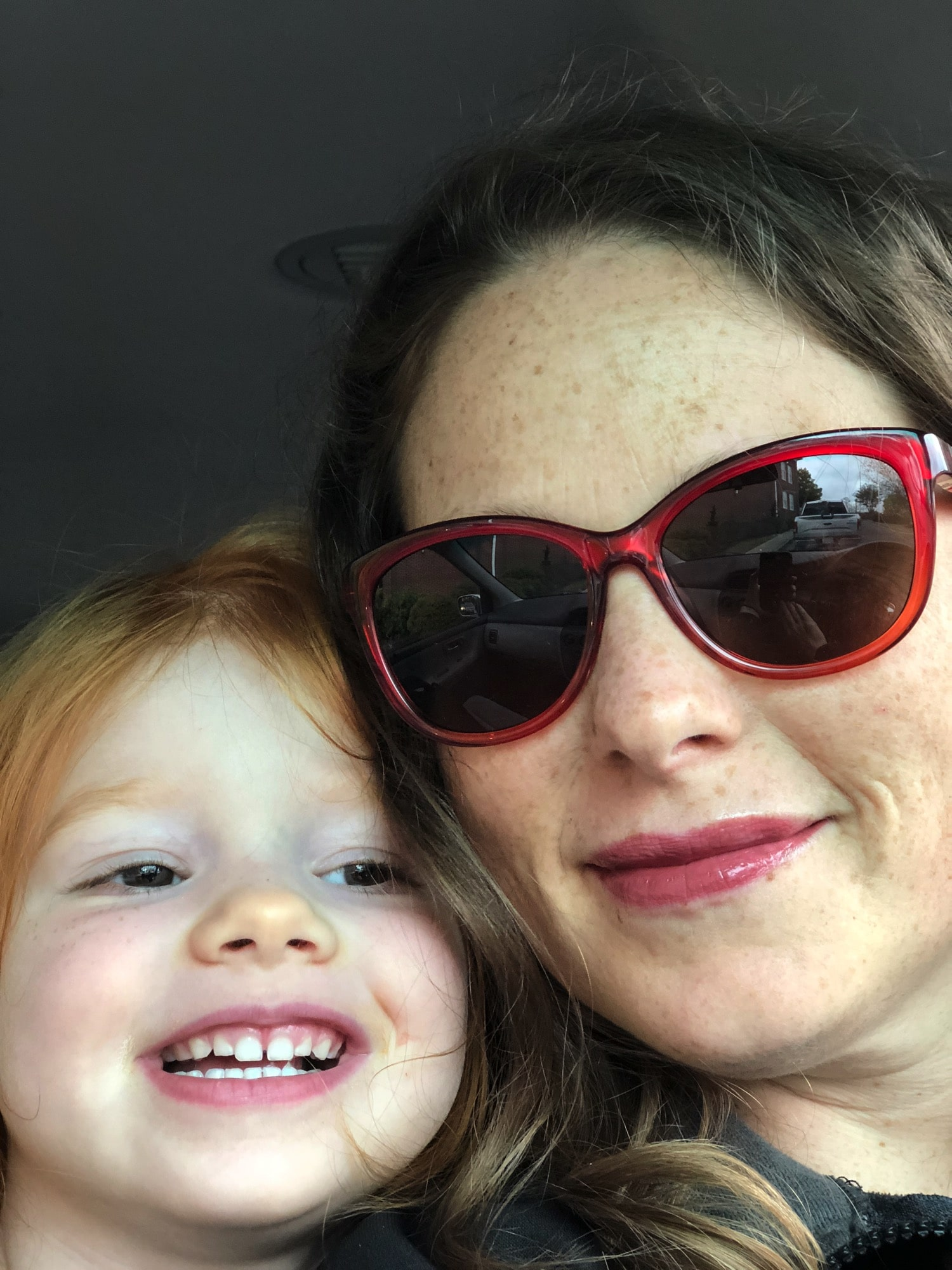 Cartime selfie | Mommy and Me Monday