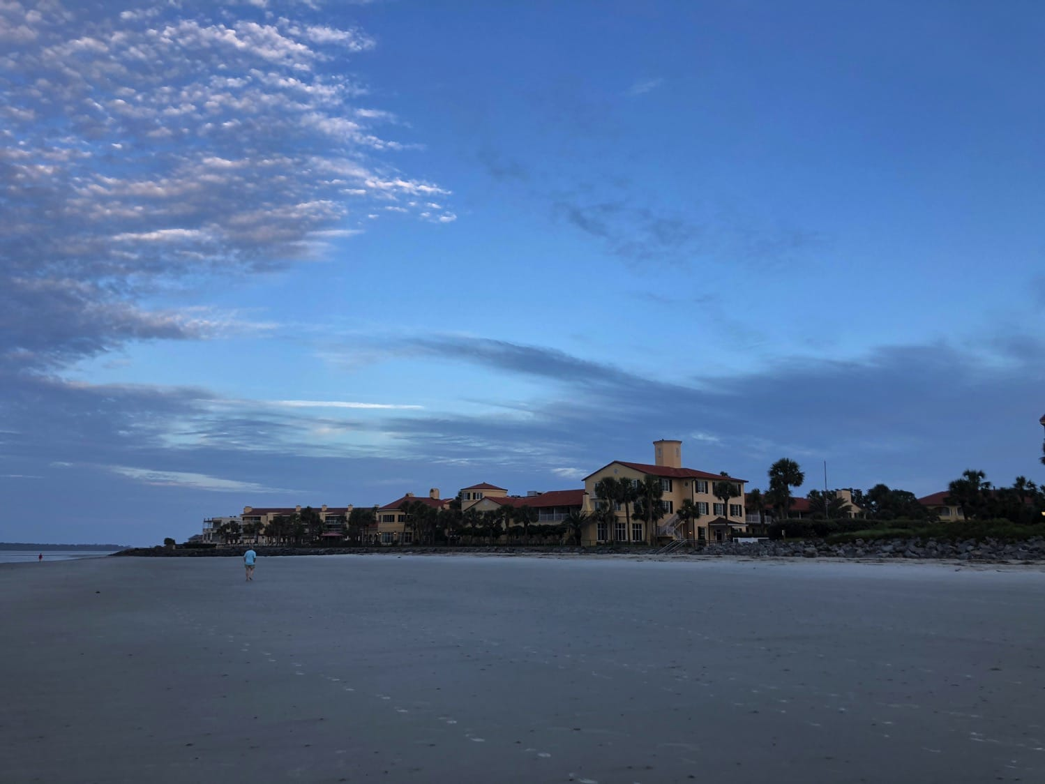 Beach front resort at St. Simons Island King and Prince