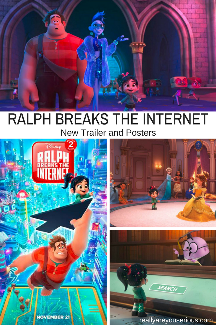 Ralph Breaks The Internet- Wreck it Ralph 2