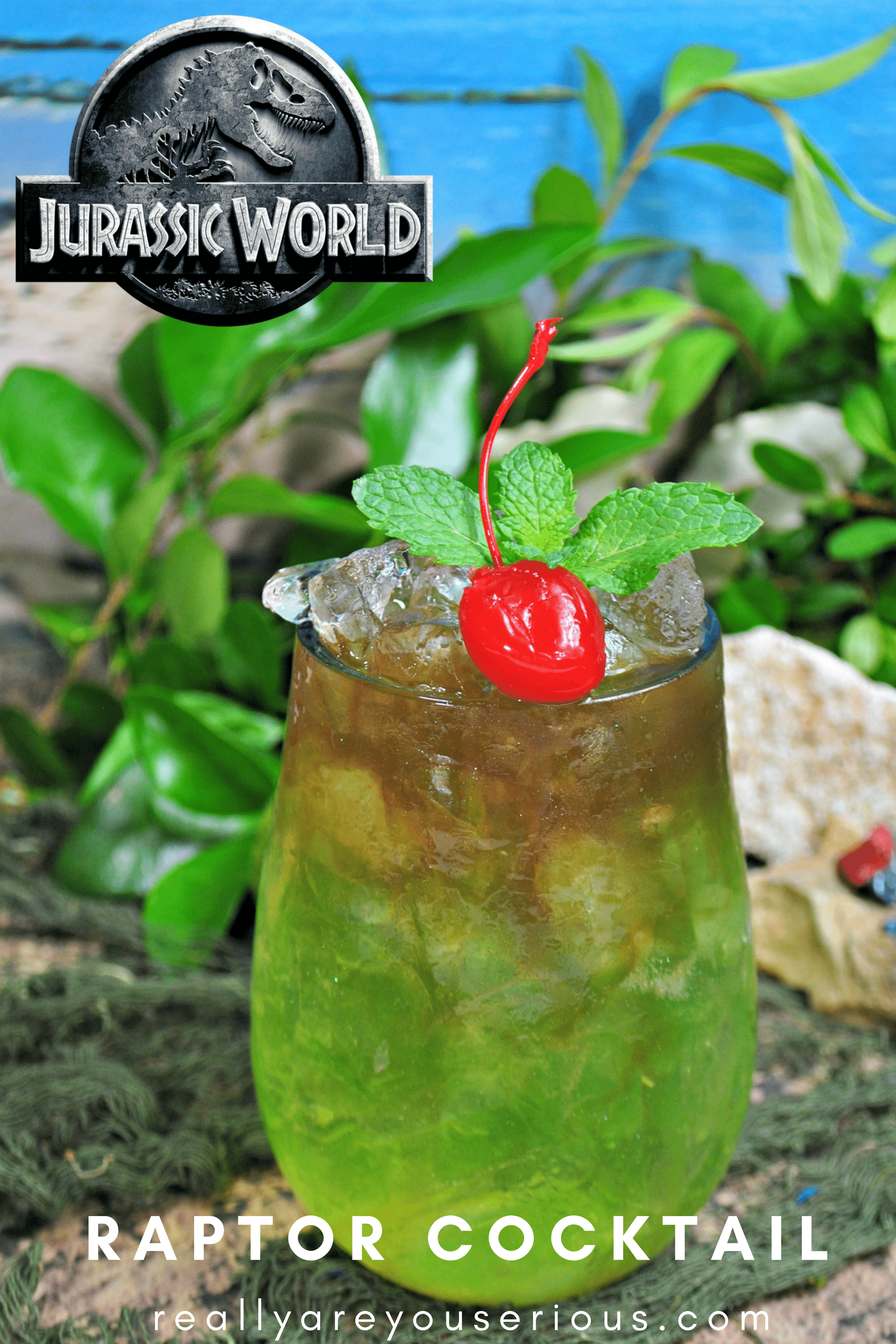 Raptor Cocktail inspired by Jurassic World