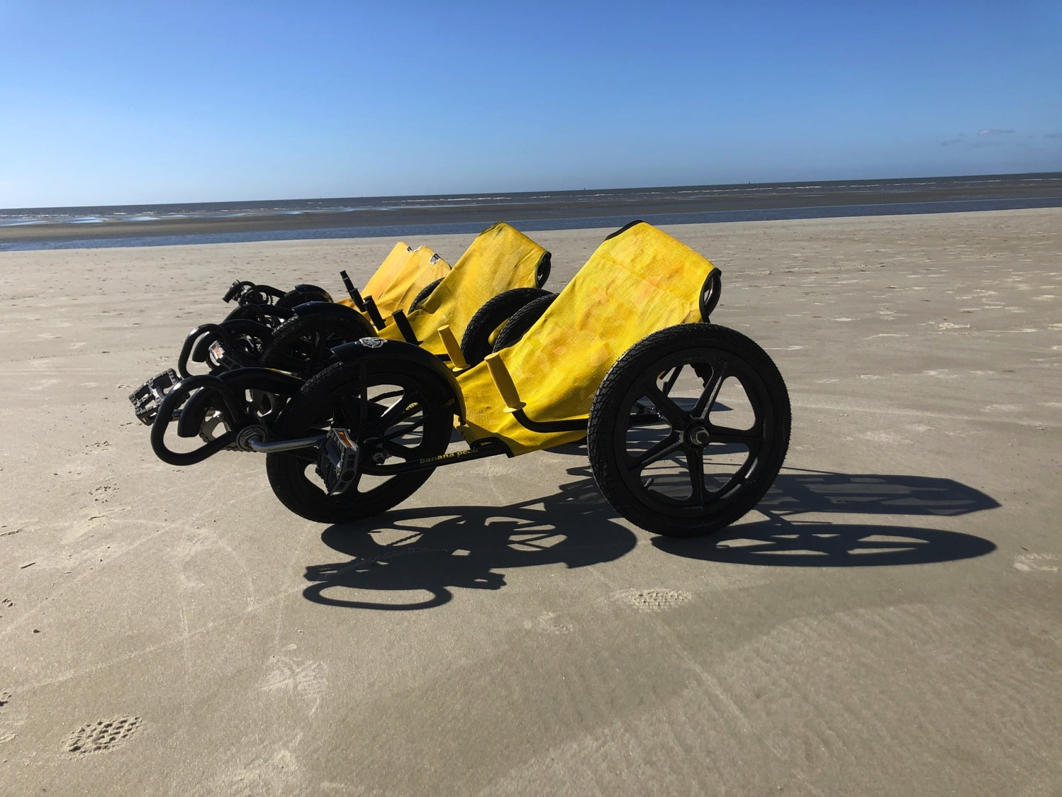 bike rentals on the beach at st. simons island