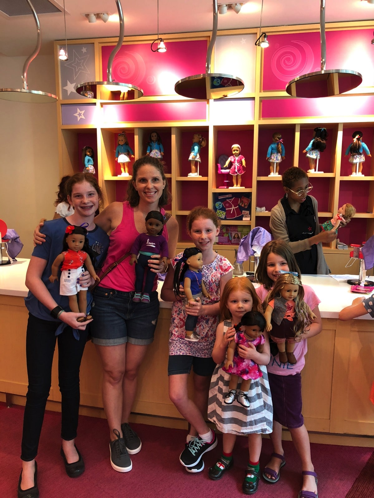 american girl salon all finished