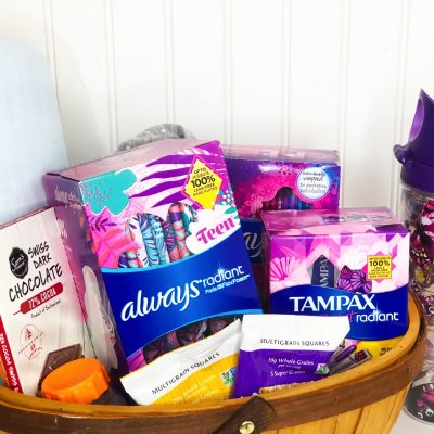what you need in your period kit
