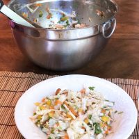 Asian Style Cole Slaw