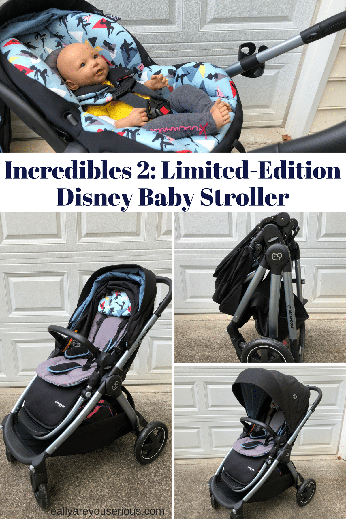Incredibles 2- Limited-Edition Disney Baby Stroller