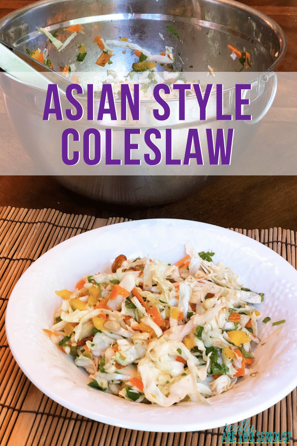 asian style coleslaw