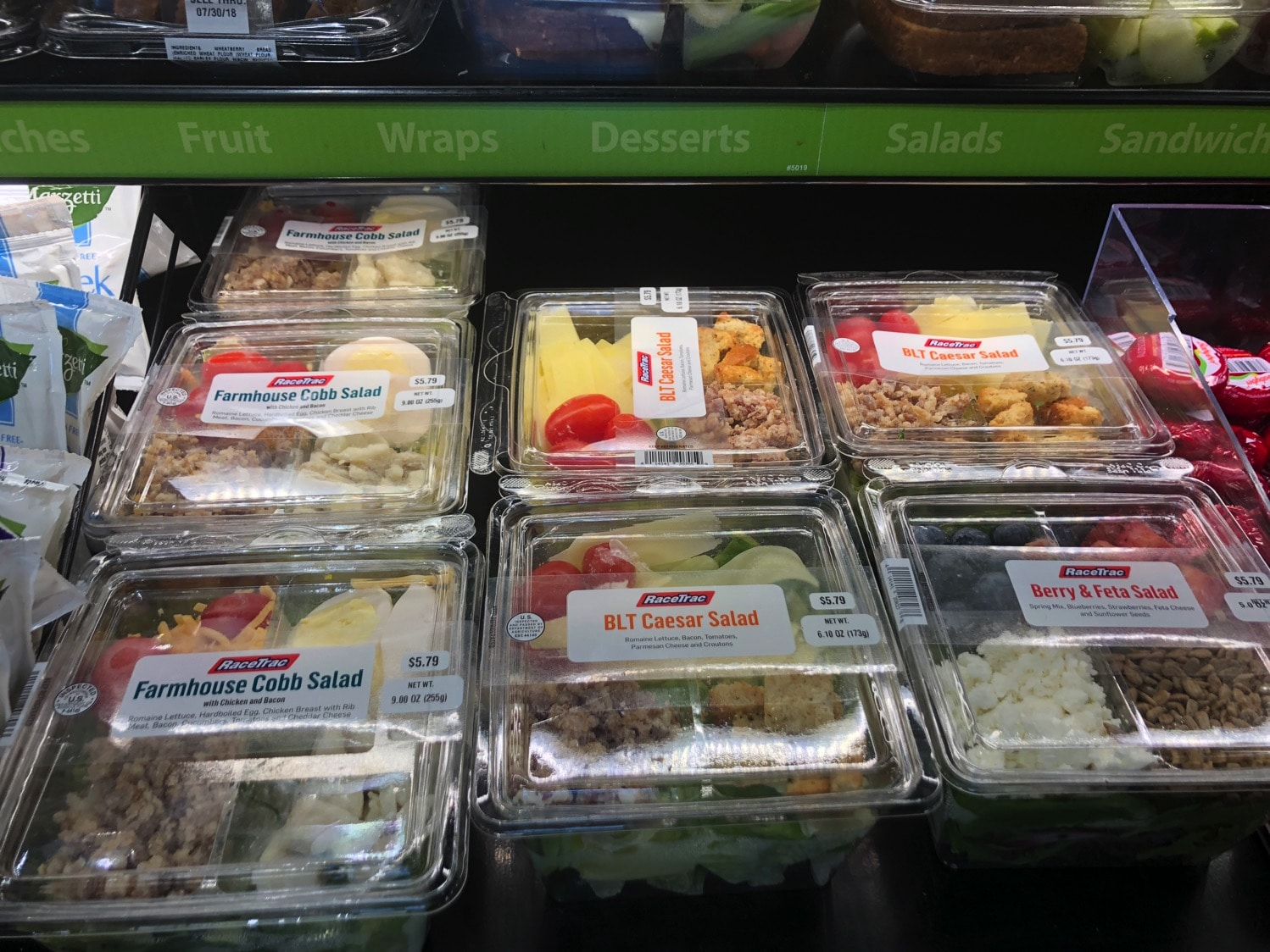 salads at racetrac