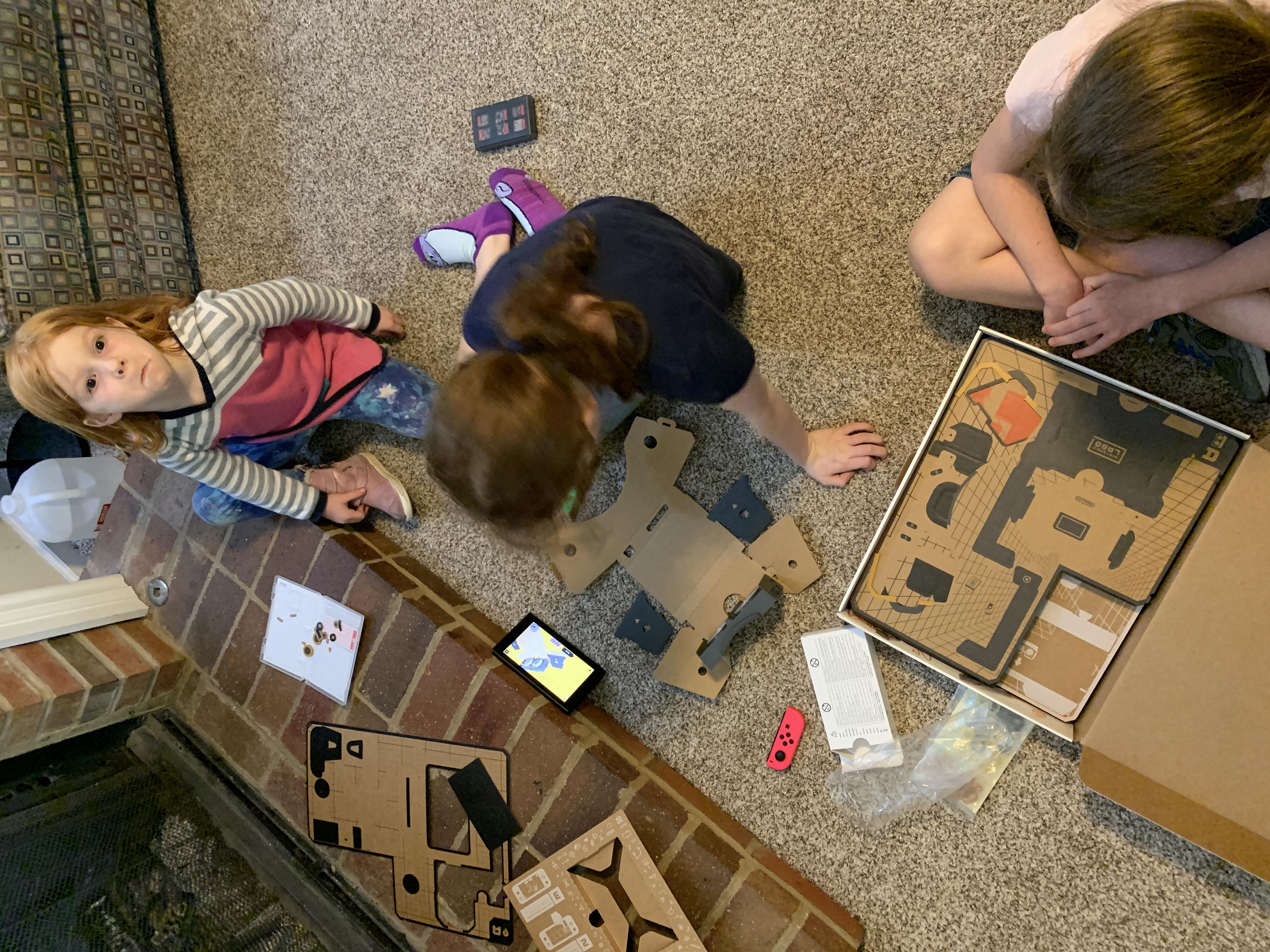 building nintendo vr kit