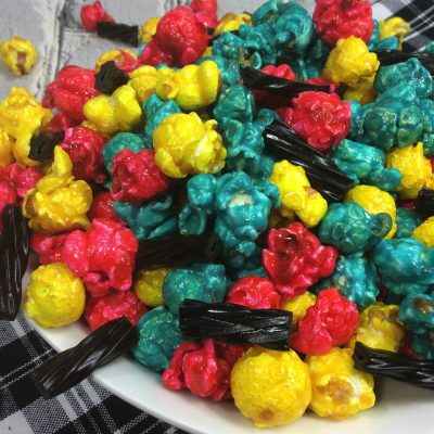 Sally inspired Candy Coated Popcorn