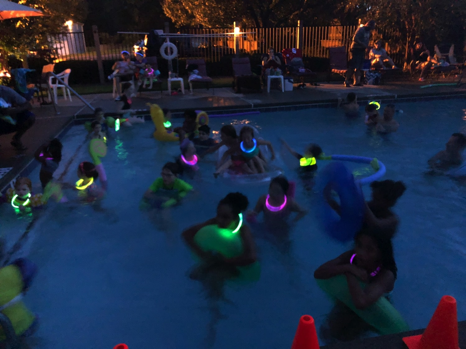 flick and float pool party