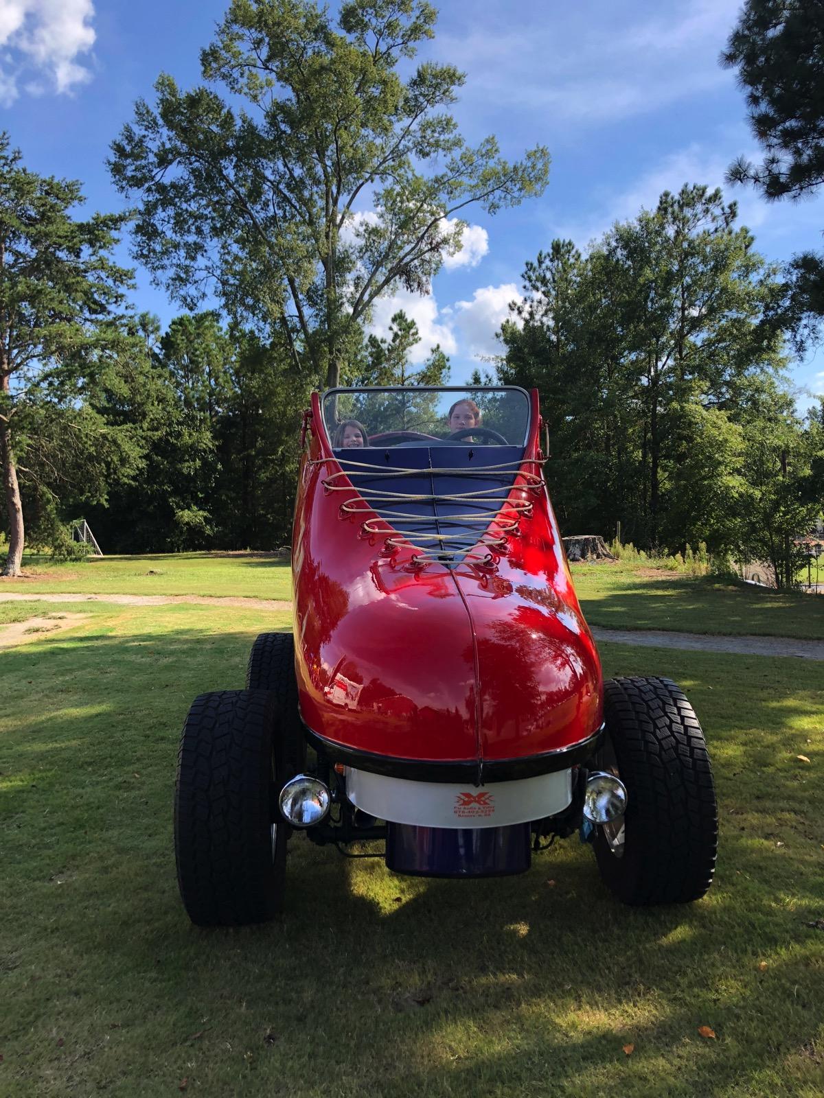 giant roller skate car