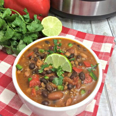 instant pot spicy chili