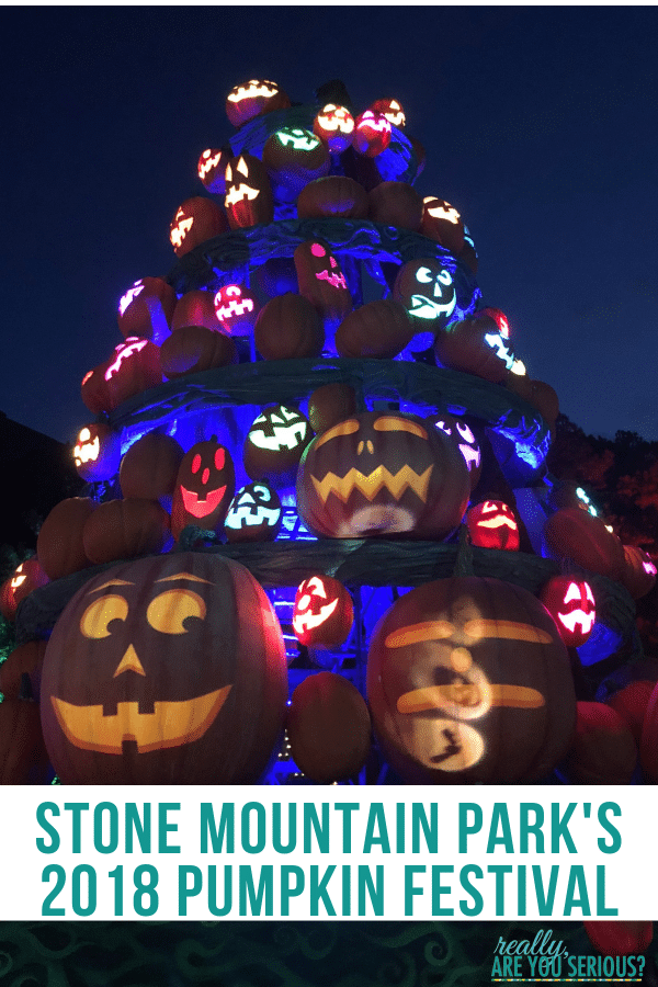 stone mountain park pumpkin festival 2018 play by day glow by night