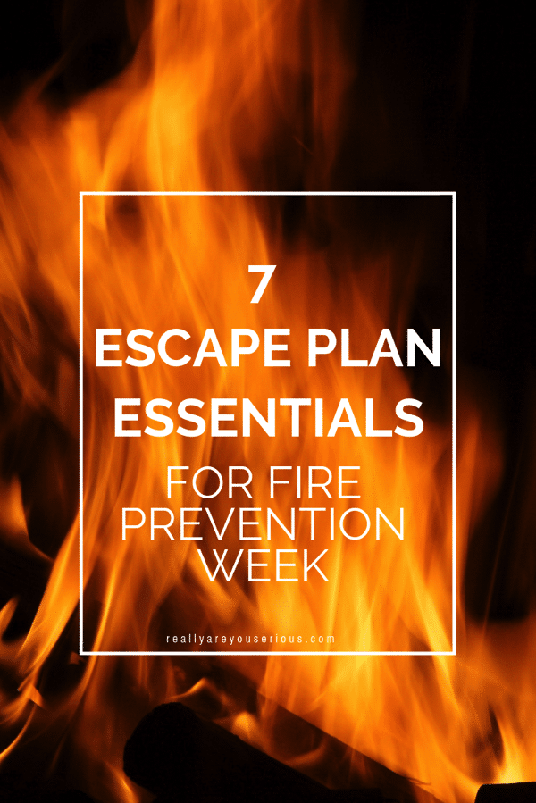 7 Escape Plan Essentials