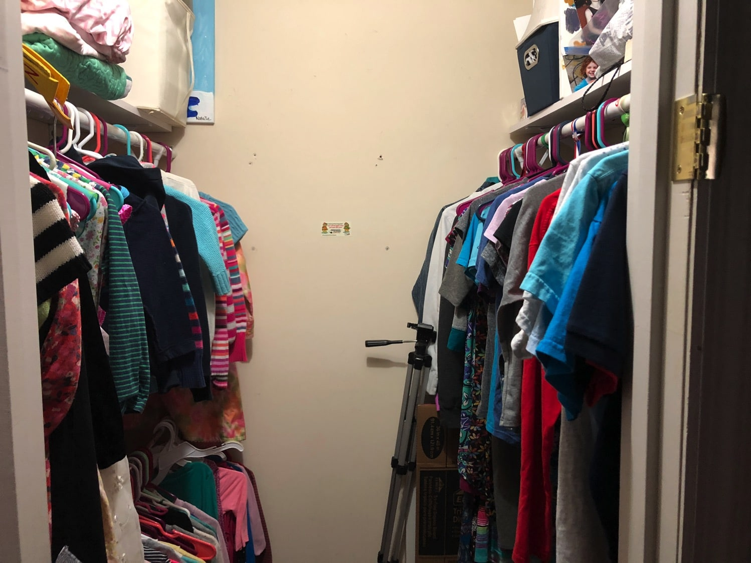 improved closet shelving and racks