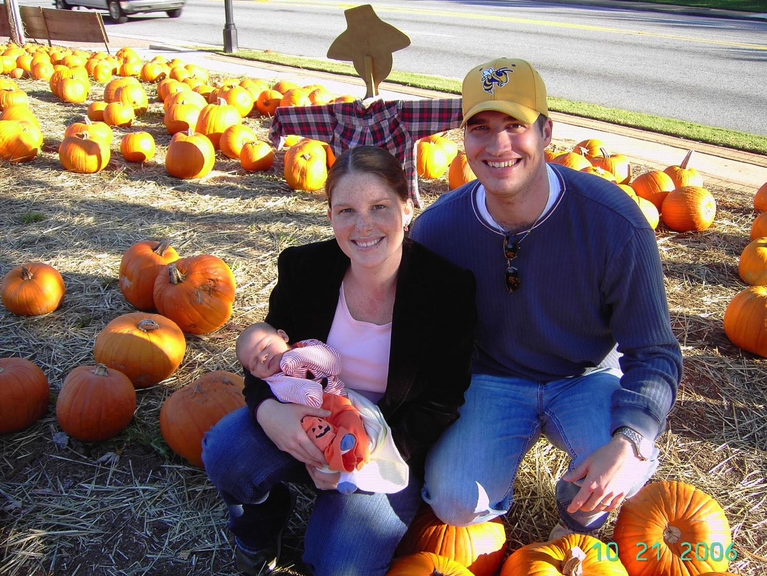 First pumpkin patch picture