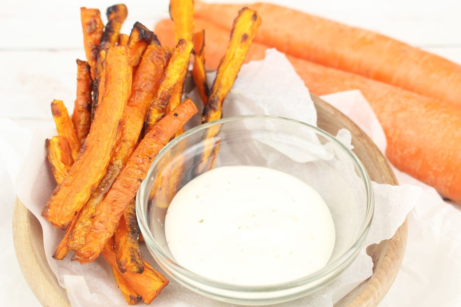 homemade carrot fries