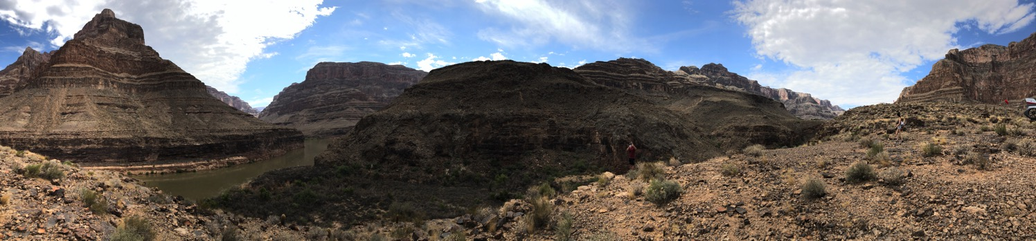 panoramic of grand canyon