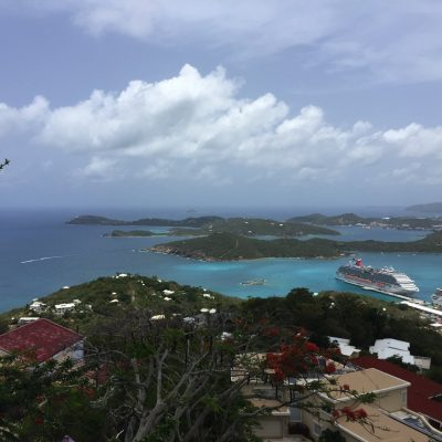 paradise point skyride at st thomas