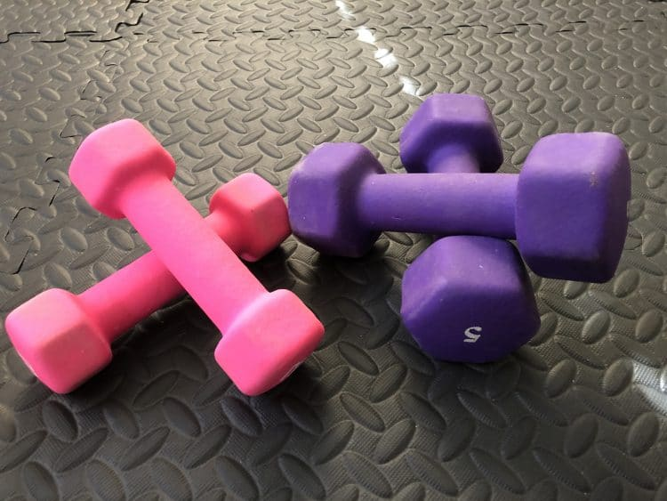 weights for garage gym
