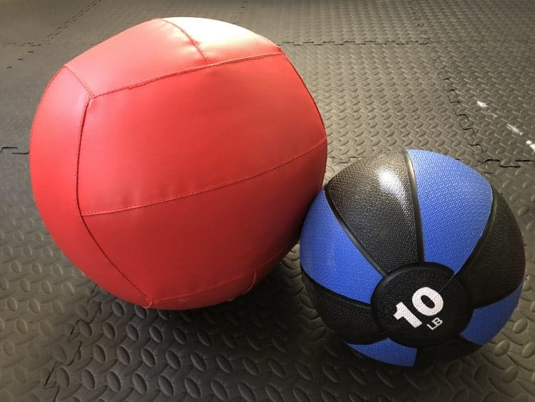 medicine balls for garage gym