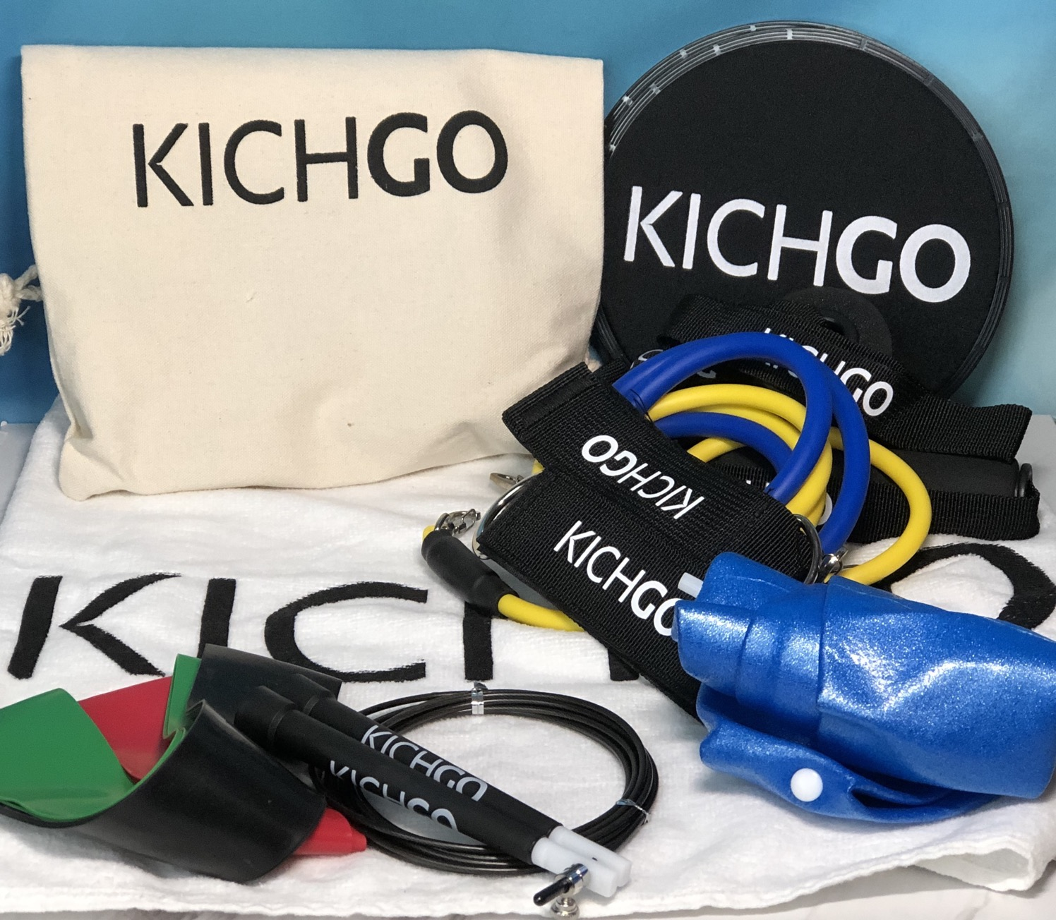 Kichgo a big gym in a little bag