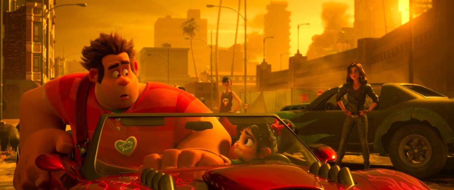 Ralph Breaks the Internet Slaughter Race