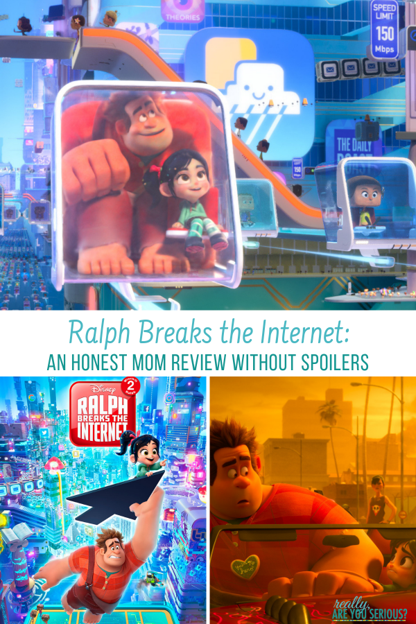 Ralph Breaks the Internet an honest mom review