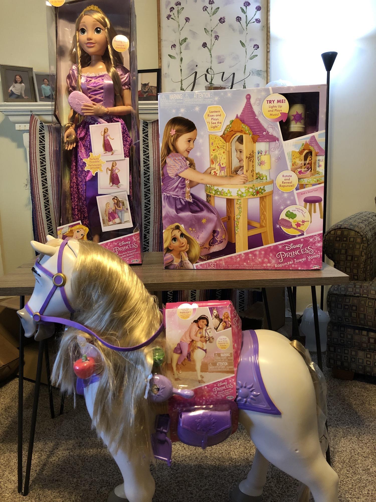 disney tangled toys 2018