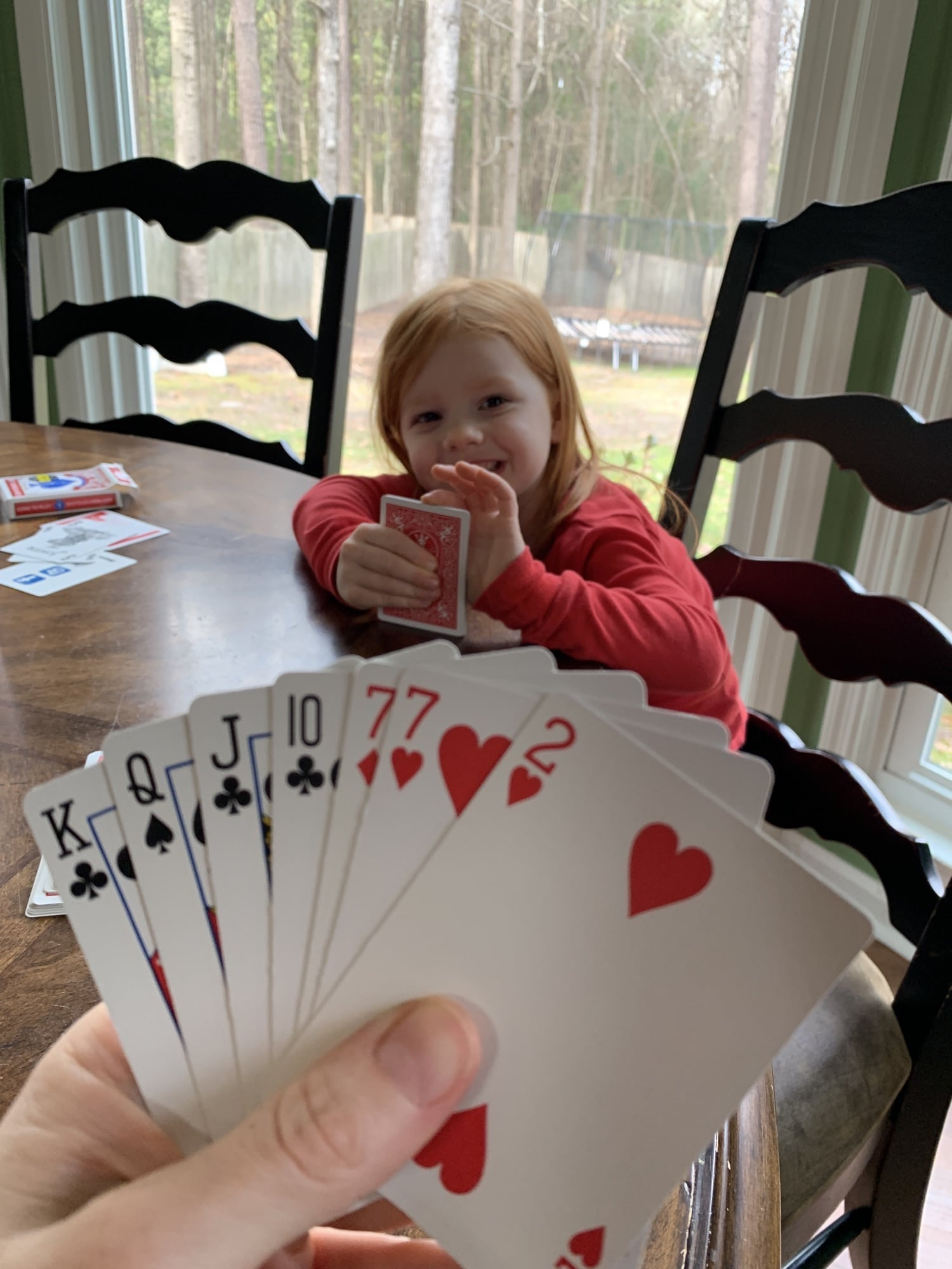 Holiday Break Go Fish with B