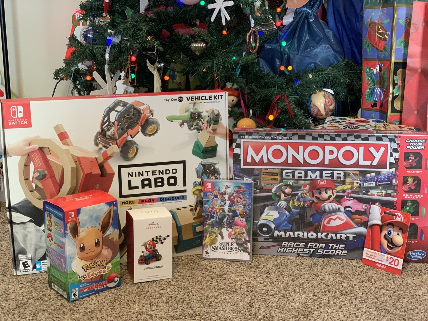 Nintendo Holiday Games 2018