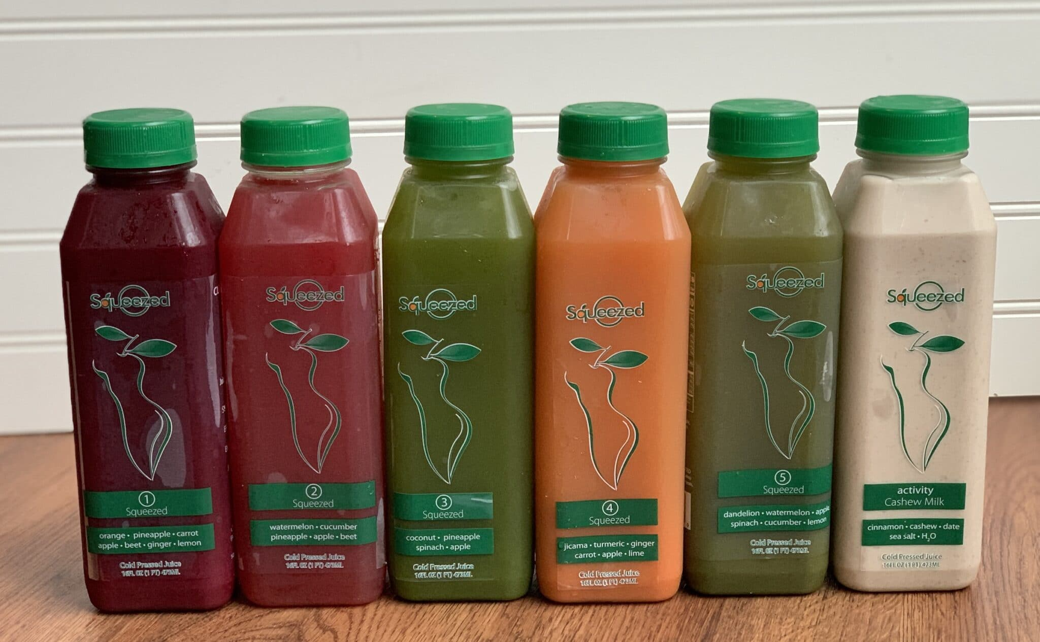 Squeezed cleanse line up
