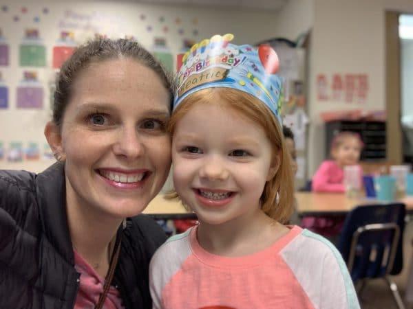 Birthday celebration mommy and me Monday