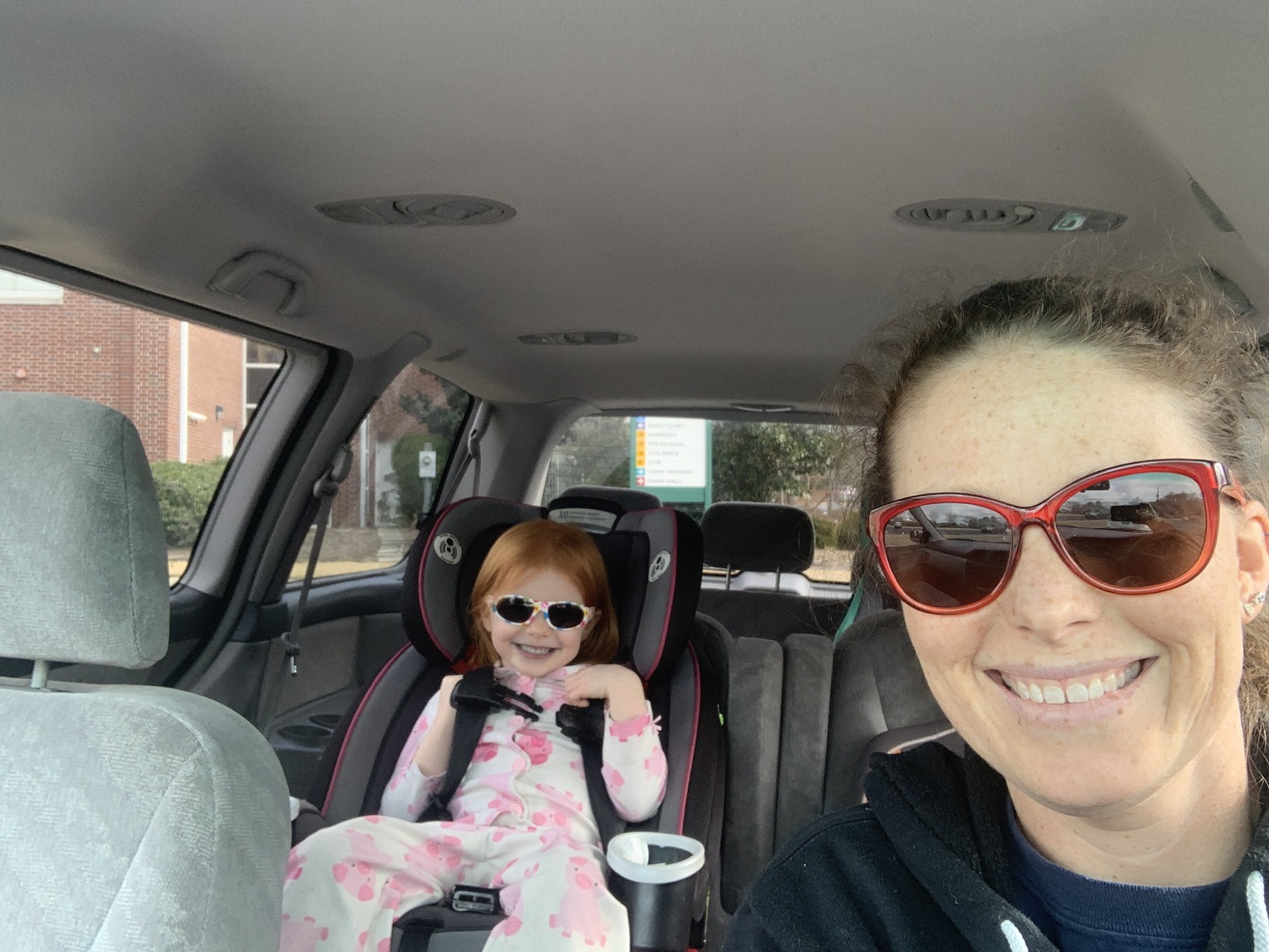 Mommy and Me Monday | Carline selfie