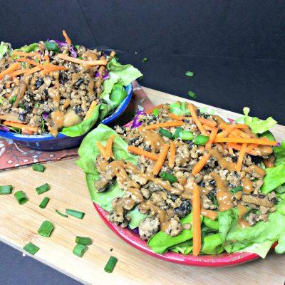 Copy Cat Thai Lettuce Wrap Salad