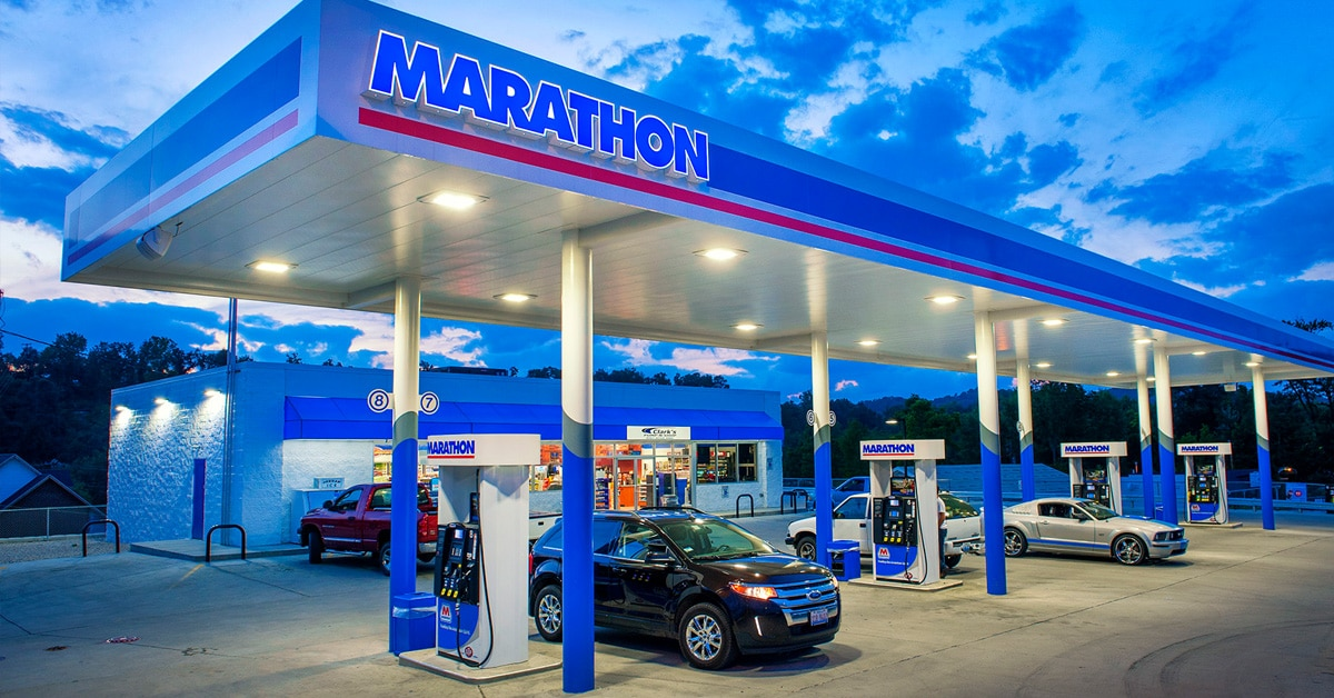 marathon gas station