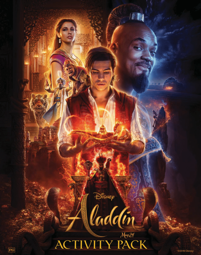 Aladdin activity pack
