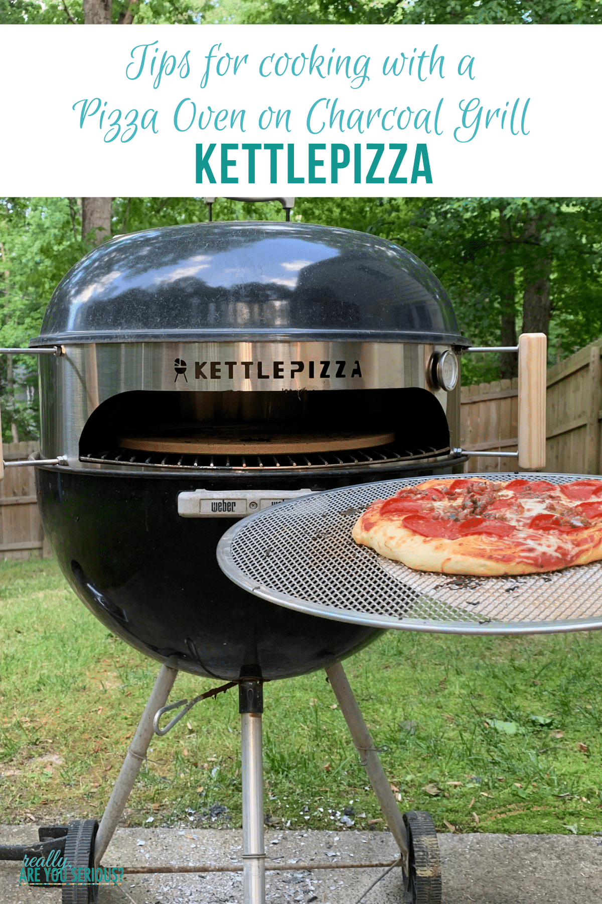 Tips for cooking with a Pizza Oven on Charcoal Grill kettlepizza