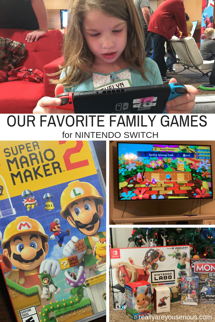 OUR FAVORITE FAMILY GAMES FOR NINTENDO SWITCH