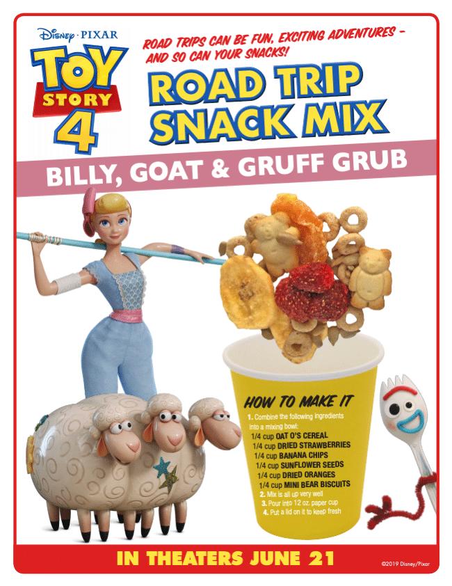 Roat Trip Snack Mix Toy Story 4