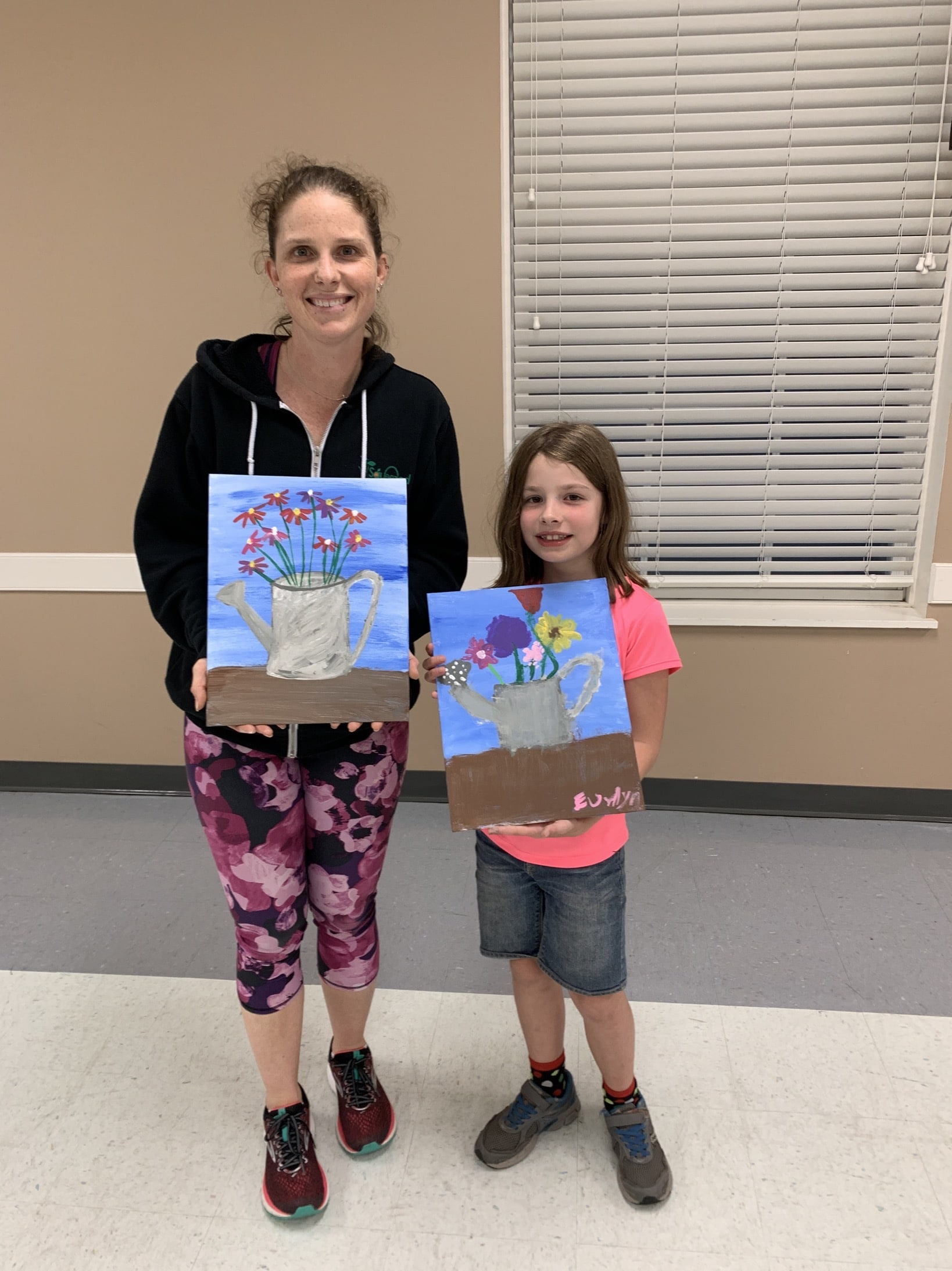 mother daughter paiting class